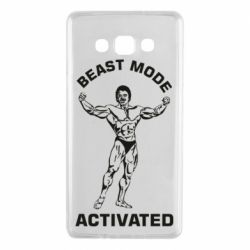 Чехол для Samsung A7 2015 Beast mode activated