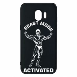 Чехол для Samsung J2 2018 Beast mode activated