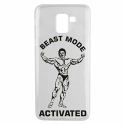 Чехол для Samsung J6 Beast mode activated