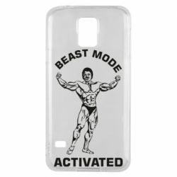 Чехол для Samsung S5 Beast mode activated