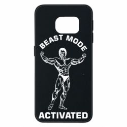 Чехол для Samsung S6 EDGE Beast mode activated
