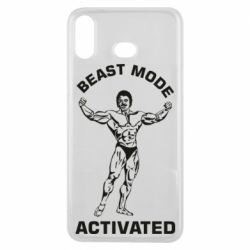 Чехол для Samsung A6s Beast mode activated