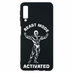 Чехол для Samsung A7 2018 Beast mode activated