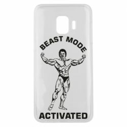 Чехол для Samsung J2 Core Beast mode activated