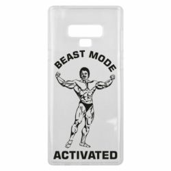 Чехол для Samsung Note 9 Beast mode activated