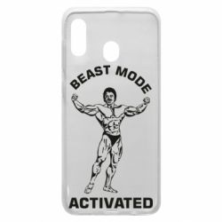 Чехол для Samsung A30 Beast mode activated