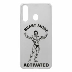 Чехол для Samsung A60 Beast mode activated