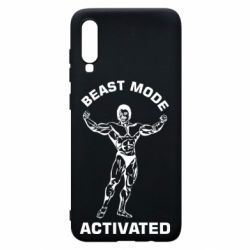 Чехол для Samsung A70 Beast mode activated