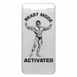 Чехол для Samsung A80 Beast mode activated