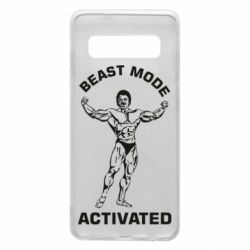 Чехол для Samsung S10 Beast mode activated