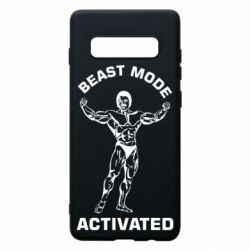 Чехол для Samsung S10+ Beast mode activated