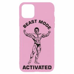 Чехол для iPhone 11 Pro Beast mode activated