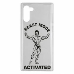 Чехол для Samsung Note 10 Beast mode activated
