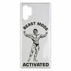 Чехол для Samsung Note 10 Plus Beast mode activated