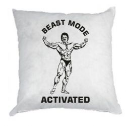 Подушка Beast mode activated