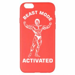 Чехол для iPhone 6 Plus/6S Plus Beast mode activated