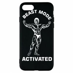 Чехол для iPhone 7 Beast mode activated