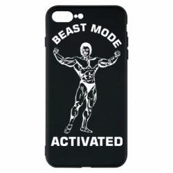 Чехол для iPhone 7 Plus Beast mode activated
