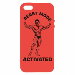 Чехол для iPhone5/5S/SE Beast mode activated
