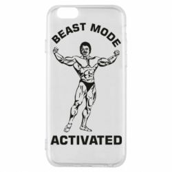 Чехол для iPhone 6/6S Beast mode activated