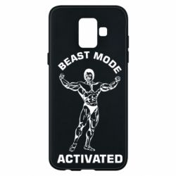 Чехол для Samsung A6 2018 Beast mode activated