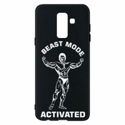 Чехол для Samsung A6+ 2018 Beast mode activated