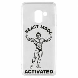 Чехол для Samsung A8 2018 Beast mode activated