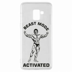 Чехол для Samsung A8+ 2018 Beast mode activated