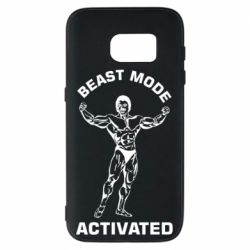 Чехол для Samsung S7 Beast mode activated