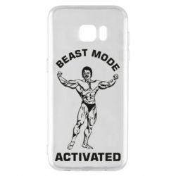 Чехол для Samsung S7 EDGE Beast mode activated