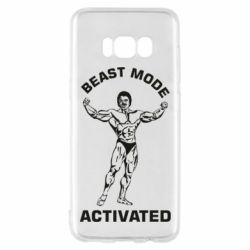 Чехол для Samsung S8 Beast mode activated