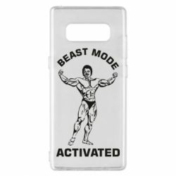 Чехол для Samsung Note 8 Beast mode activated