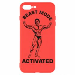 Чехол для iPhone 8 Plus Beast mode activated