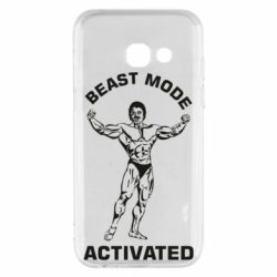 Чехол для Samsung A3 2017 Beast mode activated
