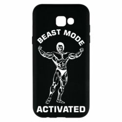 Чехол для Samsung A7 2017 Beast mode activated