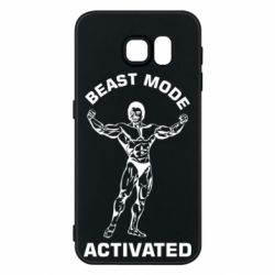 Чехол для Samsung S6 Beast mode activated