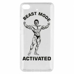 Чехол для Xiaomi Mi 5s Beast mode activated