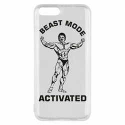 Чехол для Xiaomi Mi6 Beast mode activated