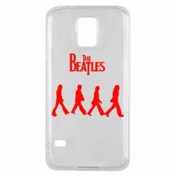 Чохол для Samsung S5 Beatles Group