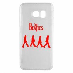Чохол для Samsung S6 EDGE Beatles Group