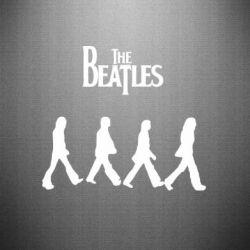 Наклейка Beatles Group