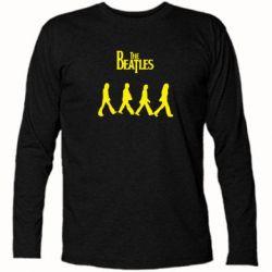 Футболка с длинным рукавом Beatles Group - FatLine