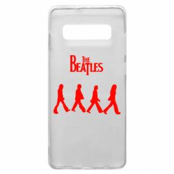 Чохол для Samsung S10+ Beatles Group