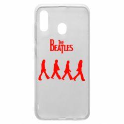 Чохол для Samsung A20 Beatles Group
