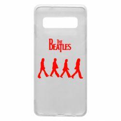 Чохол для Samsung S10 Beatles Group