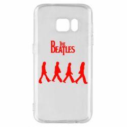Чохол для Samsung S7 Beatles Group