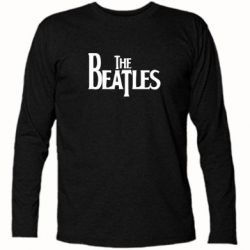 Футболка с длинным рукавом Beatles - FatLine