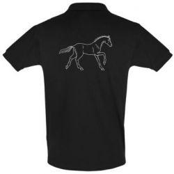 Футболка Поло Beautiful horse