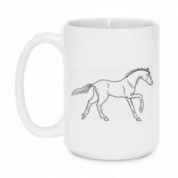 Кружка 420ml Beautiful horse