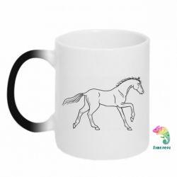 Кружка-хамелеон Beautiful horse